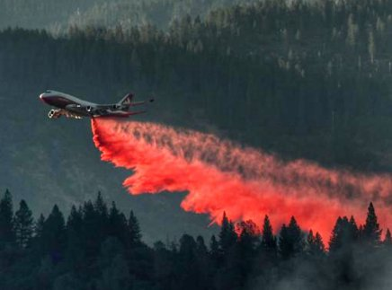 This 747 is fighting wildfires globally
