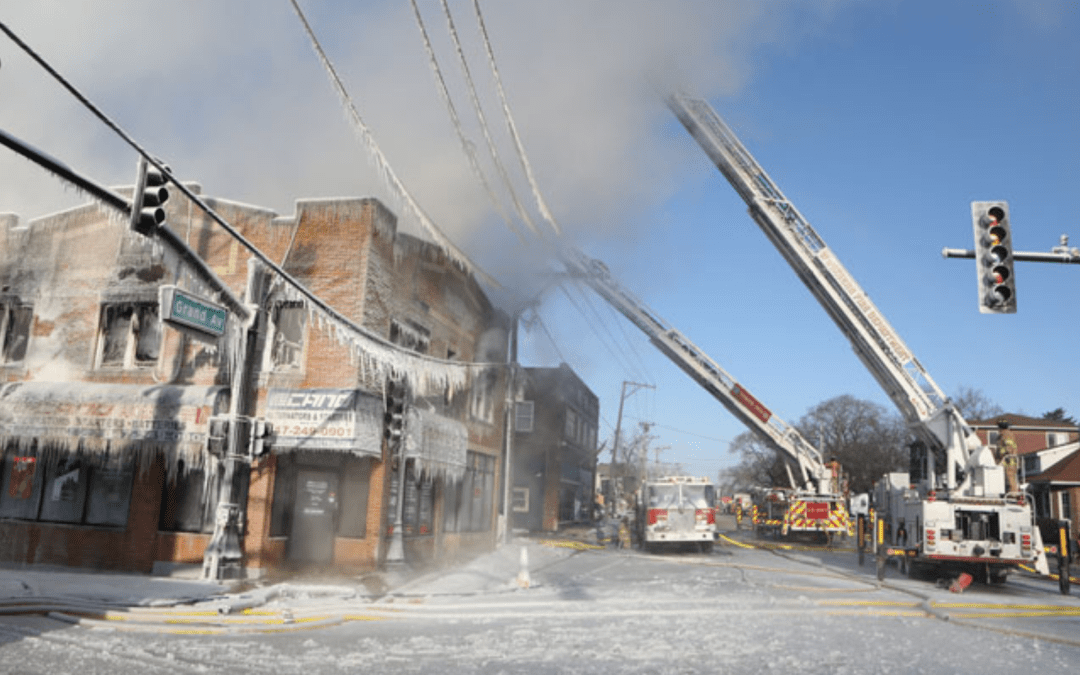 Cold Weather Firefighting Challenges