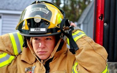 Female firefighters' health needs often neglected
