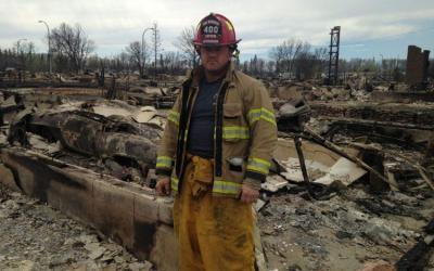 Ft. Mac firefighters honoured in Alberta Legislature ceremony