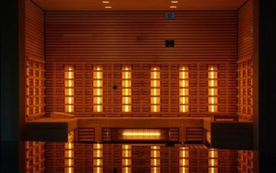 Saunas help firefighters detox post-fire