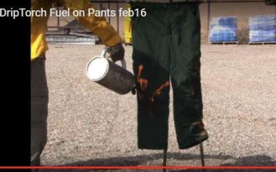 What to do if your pants are on fire