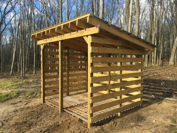 How Build Wood Shed