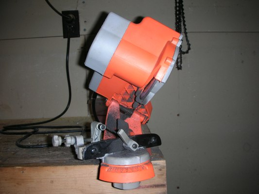 Chicago Chainsaw Sharpener Review