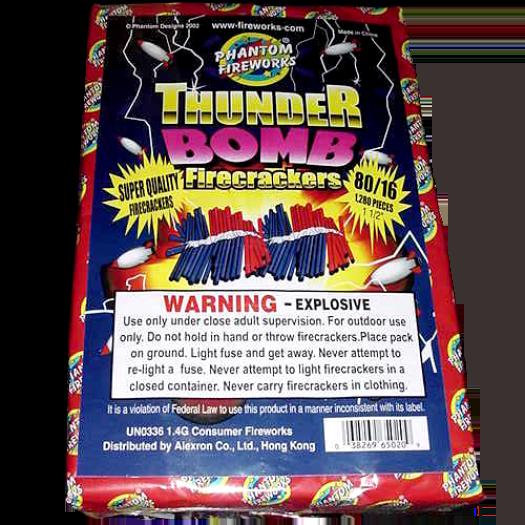 Firecrackers Thunder Bomb