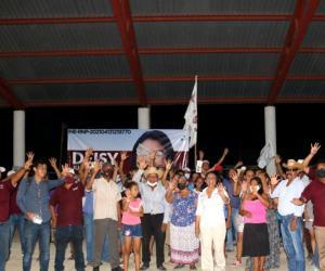 Vamos a construir una ciudad con más justicia social: Deisy Juan Antonio