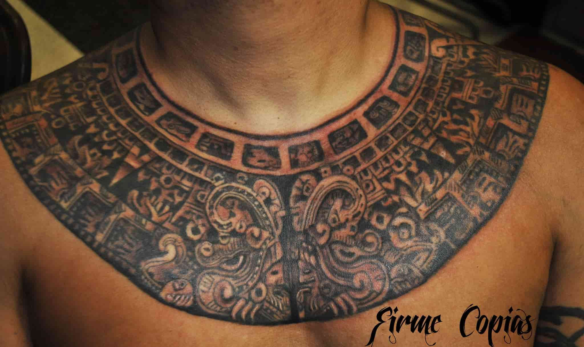 Black and Gray Tattoo - Firme Copias