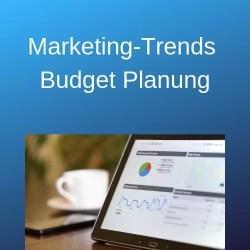 Marketing-Trends Budget Planung