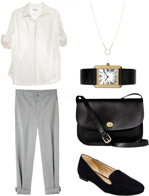 casual women's outfit