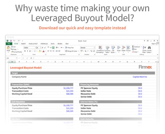 Free Leveraged Buyout Model