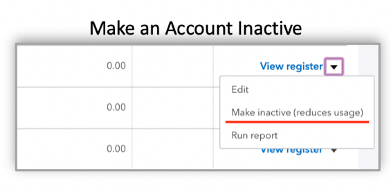 Taming the chart of accounts in QuickBooks Online - Firm of the Future