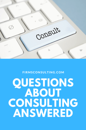 Questions about consulting answered