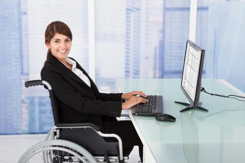 osoba niepełnosprawna w pracy