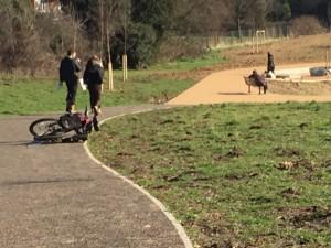 Take a stroll, bike ride or jog along the new path