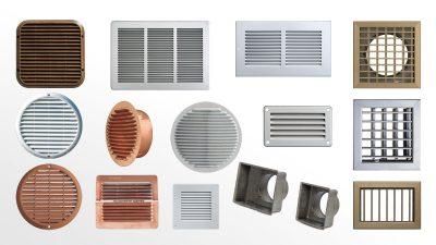 grilles de ventilation first plast france