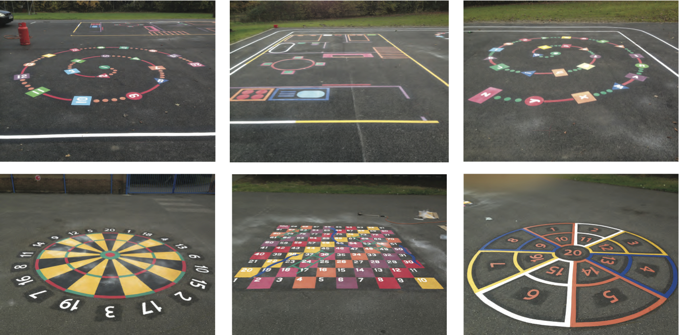 Playground Markings in Cambridge  first4playgrounds