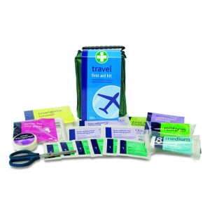 Travel First Aid Kit & Contents