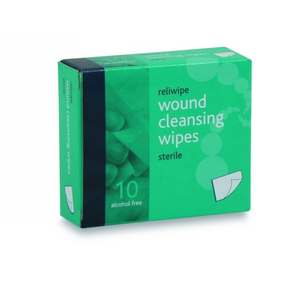 wound cleaning wipes