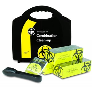 biohazard combination clean up kit