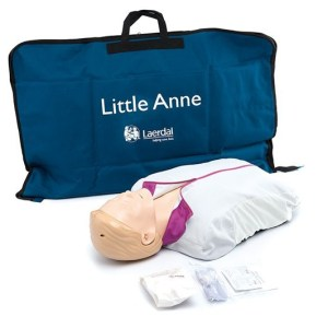 Laerdal Little Anne CPR Manikin