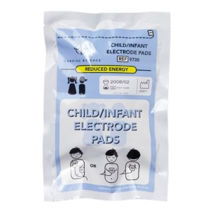 cardiac science infant/child defibrillator pads one set