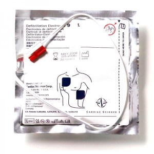 cardiac science adult defibrillator pads one set