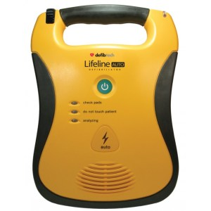 lifeline semi automatic defibrillation 7 year battery pack
