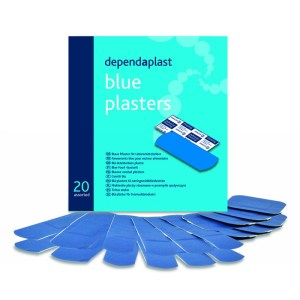blue plasters assorted wallet of 20