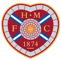 Events we cover and our clients - hearts fc logo