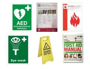 First Aid Signage for guidelines