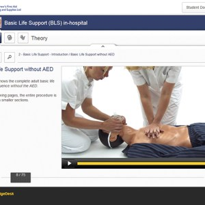 basic life support (BLS) in hospital Elearning