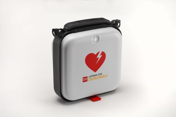 Lifepak CR2 Fully Automatic Defibrillator with handle and wifi