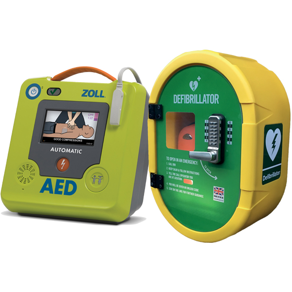 Zoll AED and Outdoor Safe