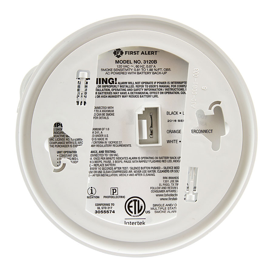 Smoke Detector Firex 120 1072b Wiring Diagram Lowes Detectors Model Adc