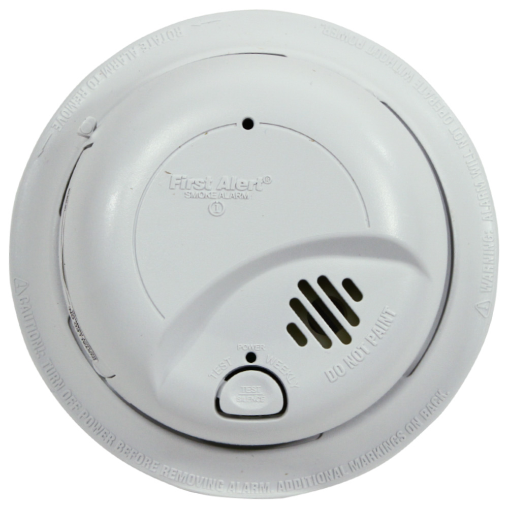 hight resolution of first alert 9120b 48b hardwired smoke alarm with battery backup contractor pack 48 pack first alert store