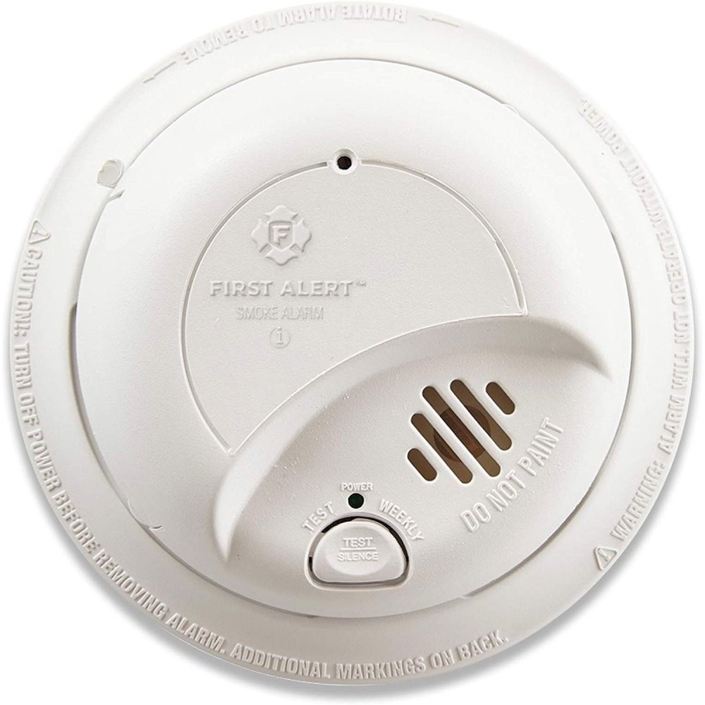 medium resolution of first alert 9120lbl brk brands hardwire smoke alarm with 10 year battery backup first alert store