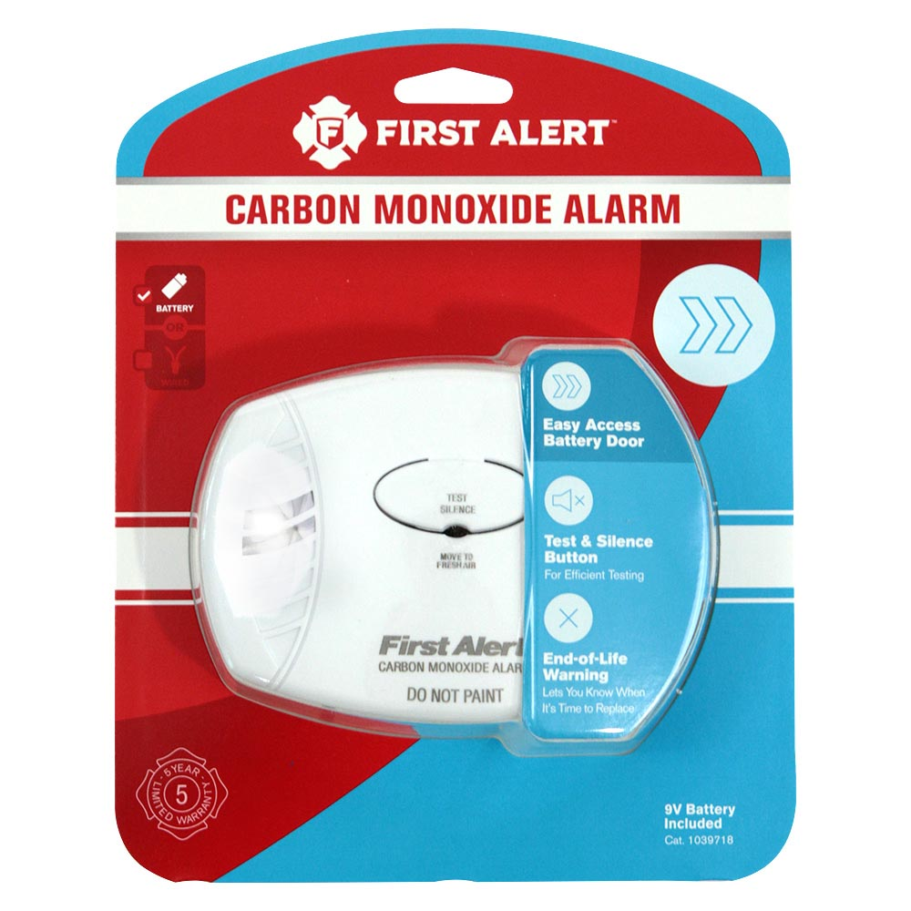 First Alert CO400 Basic Battery Operated Carbon Monoxide Alarm  First Alert Store