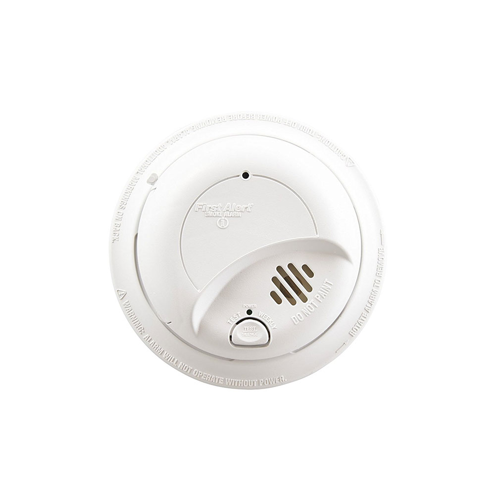 hight resolution of first alert 120vac hardwired smoke alarm with battery backup sa9120bcn 1039816