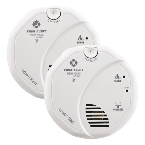 small resolution of first alert sa511cn2 3st wireless battery operated smoke alarm with voice location twin pack first alert store