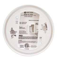 first alert wireless interconnect hardwired smoke alarm sa521cn 3st 1039830  [ 1493 x 1500 Pixel ]