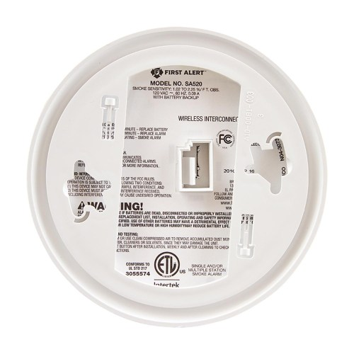 small resolution of first alert wireless interconnect hardwired smoke alarm sa521cn 3st 1039830