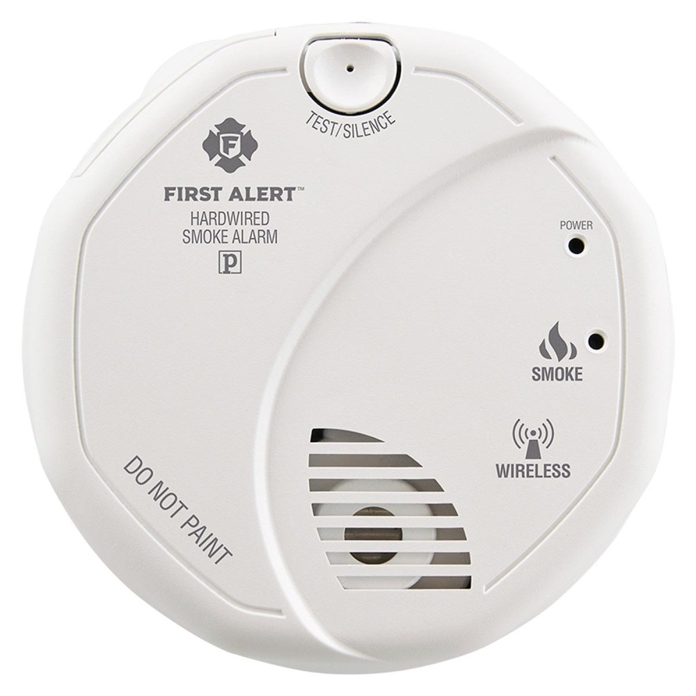 medium resolution of first alert wireless interconnect hardwired smoke alarm sa521cn 3st 1039830