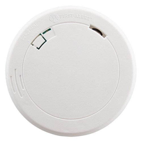 small resolution of first alert pr700 slim design battery operated photoelectric smoke fire alarm first alert store