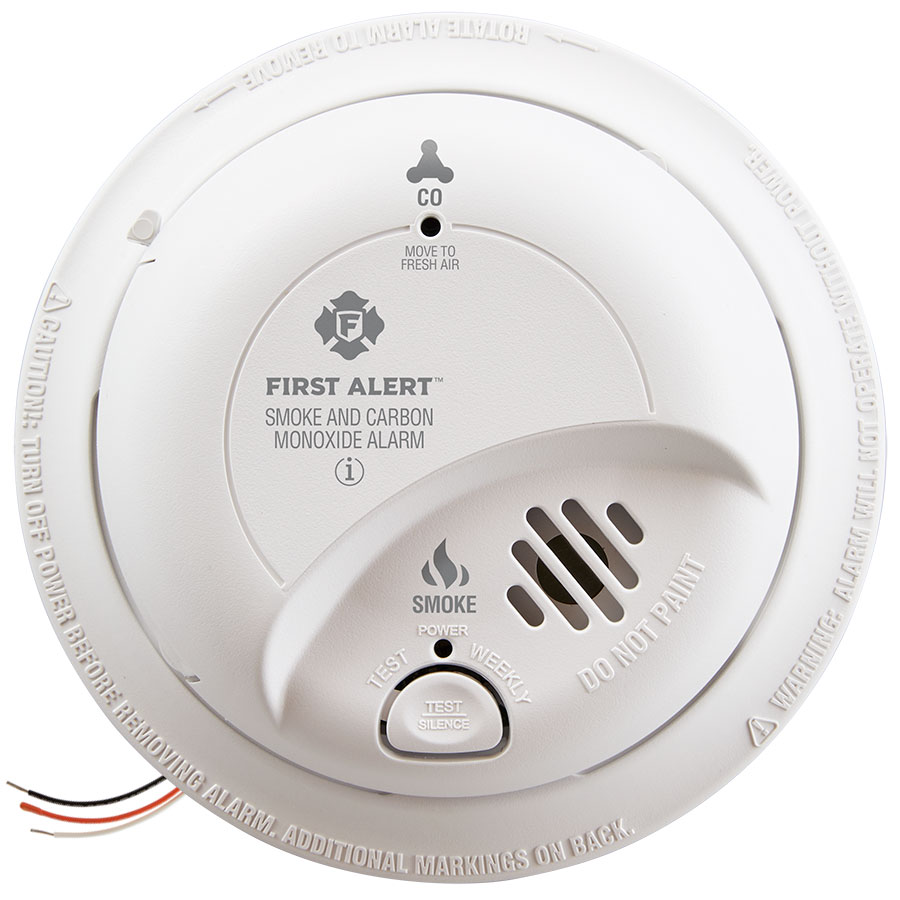 medium resolution of first alert sc9120b hardwire combination smoke carbon monoxide alarm with battery backup first alert store