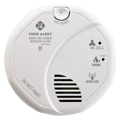 small resolution of first alert wireless interconnect talking battery operated smoke carbon monoxide alarm sco501cn 3st