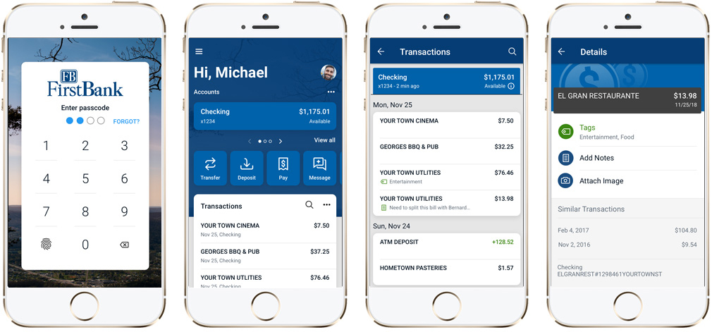 Personal Online Mobile Banking Mobile Deposit And Popmoney