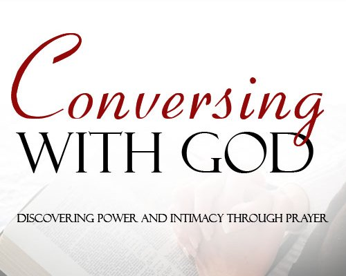 Conversing with God - small logo