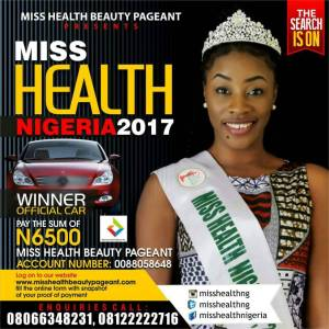 Miss Health Beauty Pageant Nigeria 2018