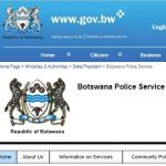 BOTSWANA POLICE SERVICE FORM 2019  — CLICK HERE TO APPLY TODAY