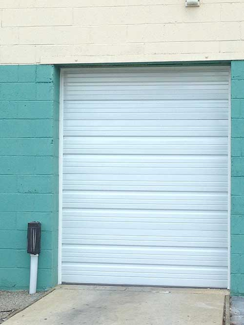 Amarr Model 2402 Ribbed Door